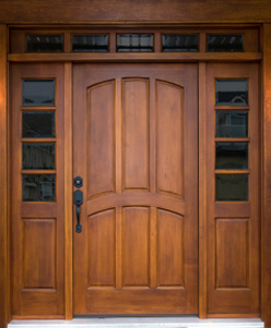 Image of new front door, door company southend